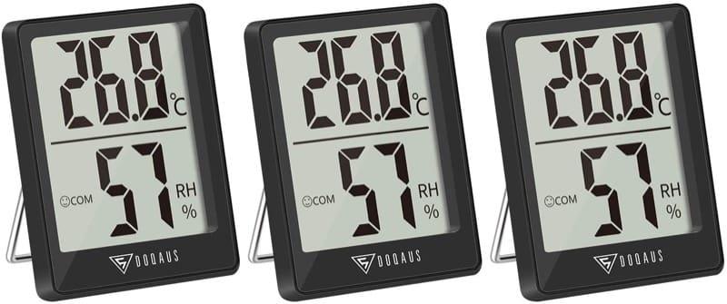 regolazione temperature ambiente - Termometro igrometro termoigrometro videocamera videocitofono per la casa 8