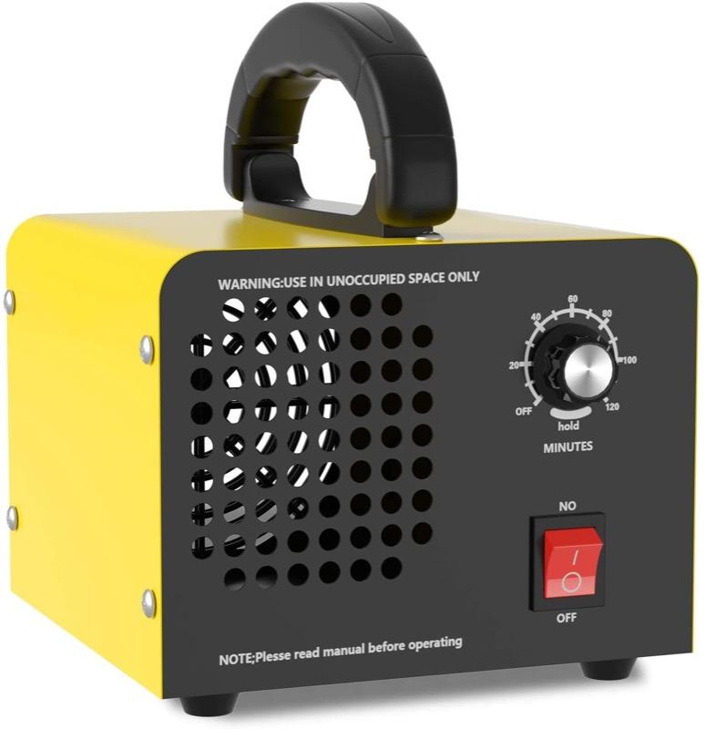 contro la muffa - Rimuovere la muffa in casa con un generatore di ozono 24