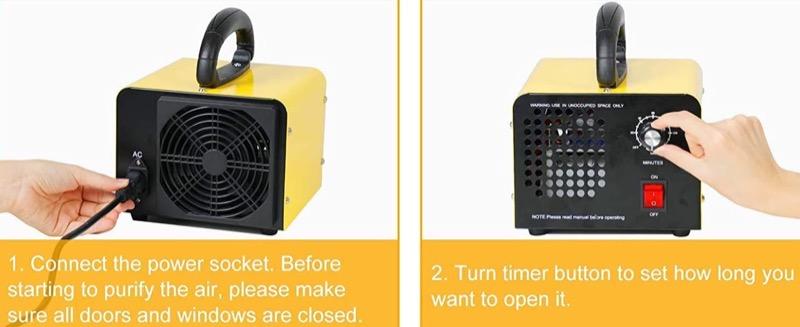contro la muffa - Rimuovere la muffa in casa con un generatore di ozono 8
