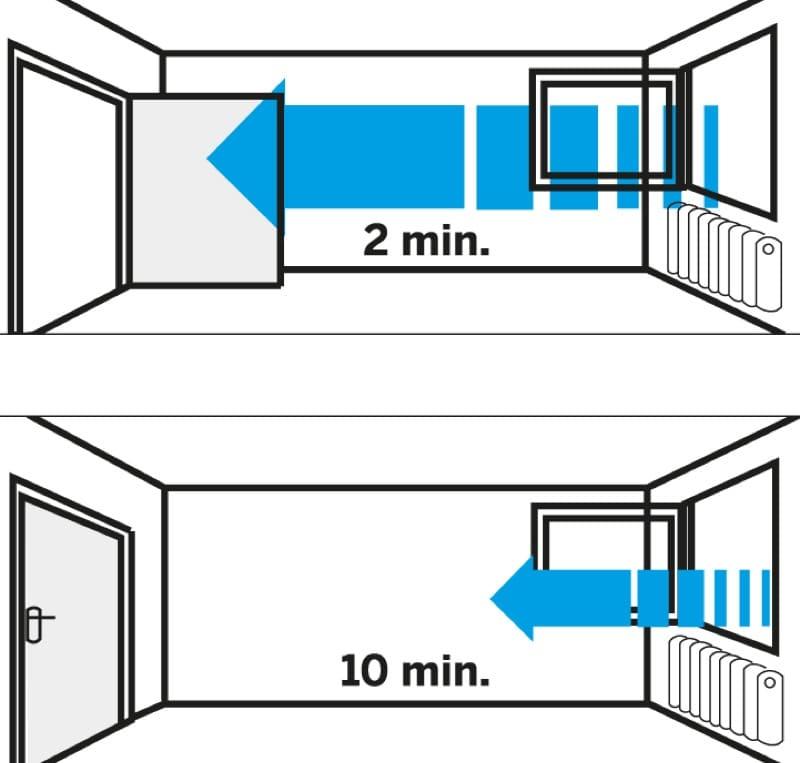 comprendere la muffa - Eliminare la muffa in casa senza isolamento e senza VMC 14