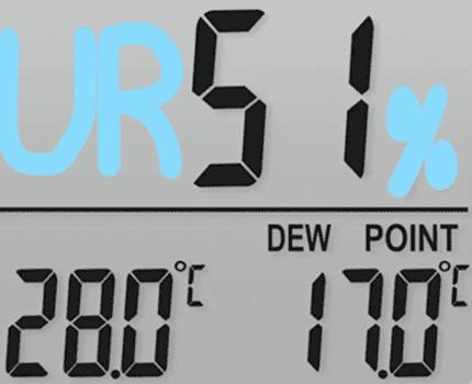 contro la muffa - Eliminare la muffa in casa misurando il punto di rugiada con 30€ 22