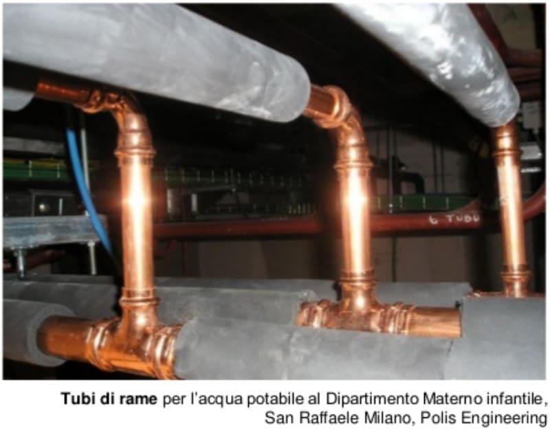 acqua calda sanitaria & solare termico - Il rame è un antibatterico efficace, io lo uso in casa, nelle rubinetterie e... 22