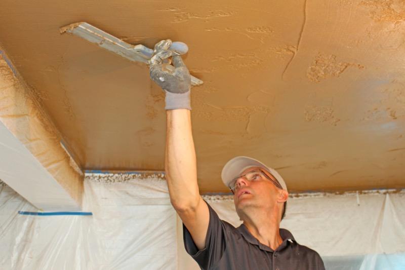 Finitura interna parete - intonaco a base argilla 6,40€/mq per cm di spessore 16