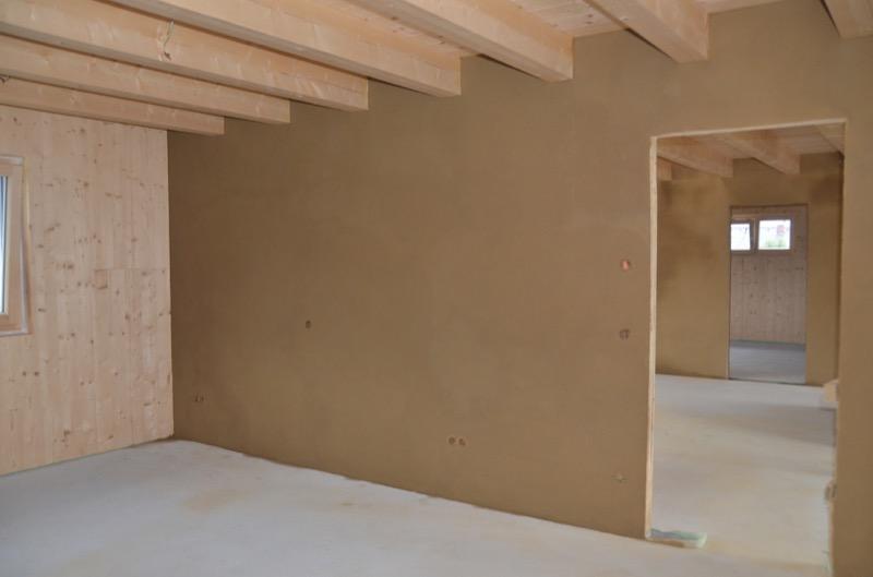 Finitura interna parete - intonaco a base argilla 6,40€/mq per cm di spessore 2