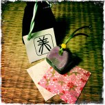 Bi 美, Belleza. Kanji en estilo Tensho.
