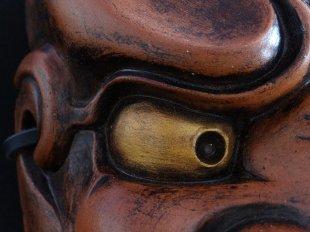 Obeshimi, detalle ojo dorado