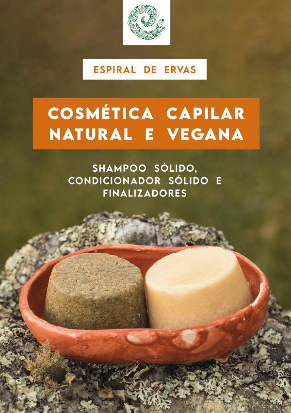 Capa ebook Cosmética Capilar Natural e Vegana