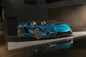 Lamborghini Sián Roadster 2020