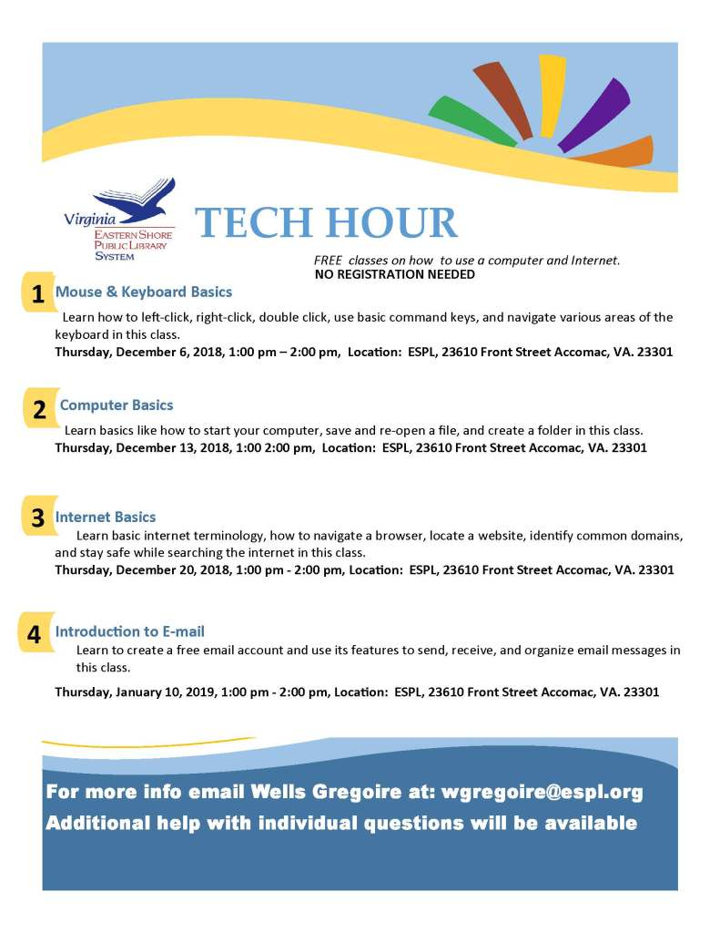 tech hour flyer