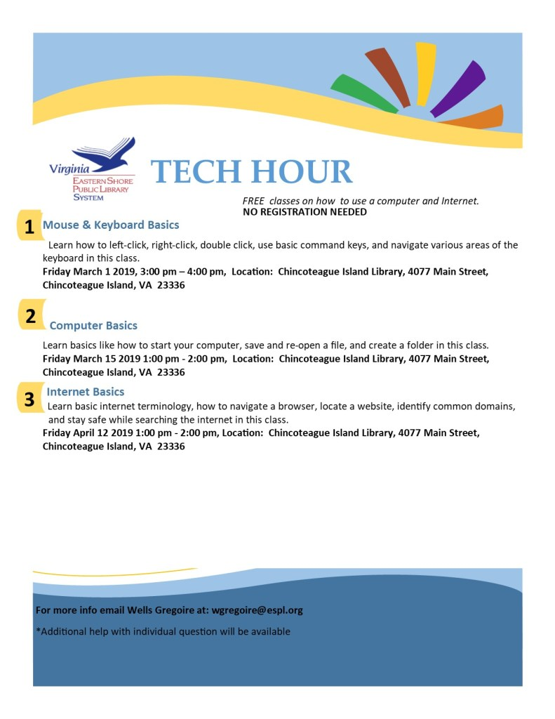 tech hour flyer (Island)