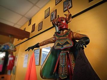Un locale di Puno, Perù