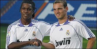 Presentación Drenthe y Sneijder