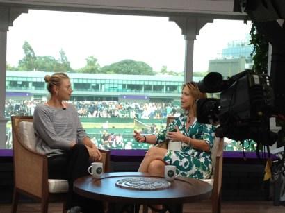Pic - Wimbledon - Breakfast Hannah and Maria