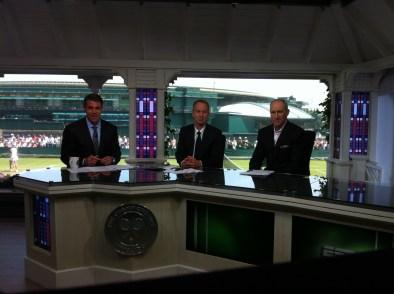 Pic - Wimbledon - Set - Chris John Brad