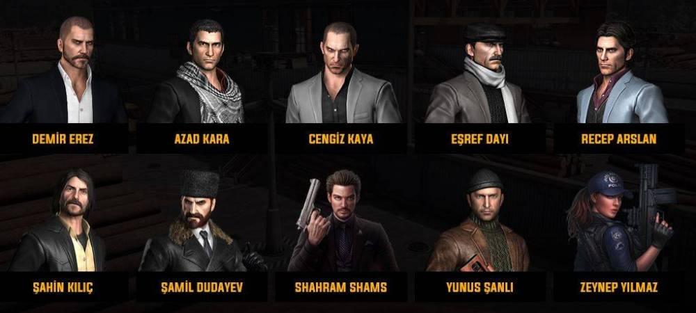 Zula Karakterler