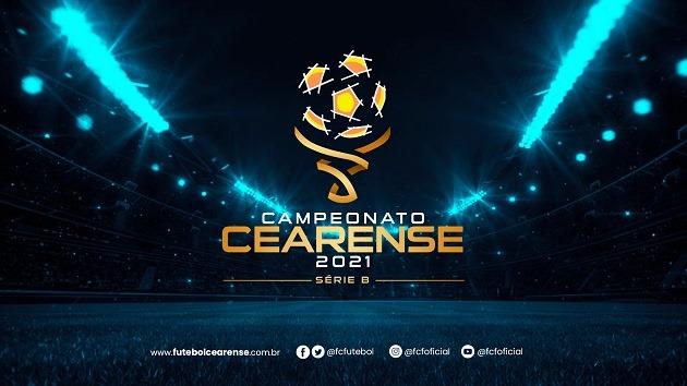 Federação Cearense de Futebol divulga tabela com jogos das três primeiras rodadas da Série B do Campeonato Cearense 2021
