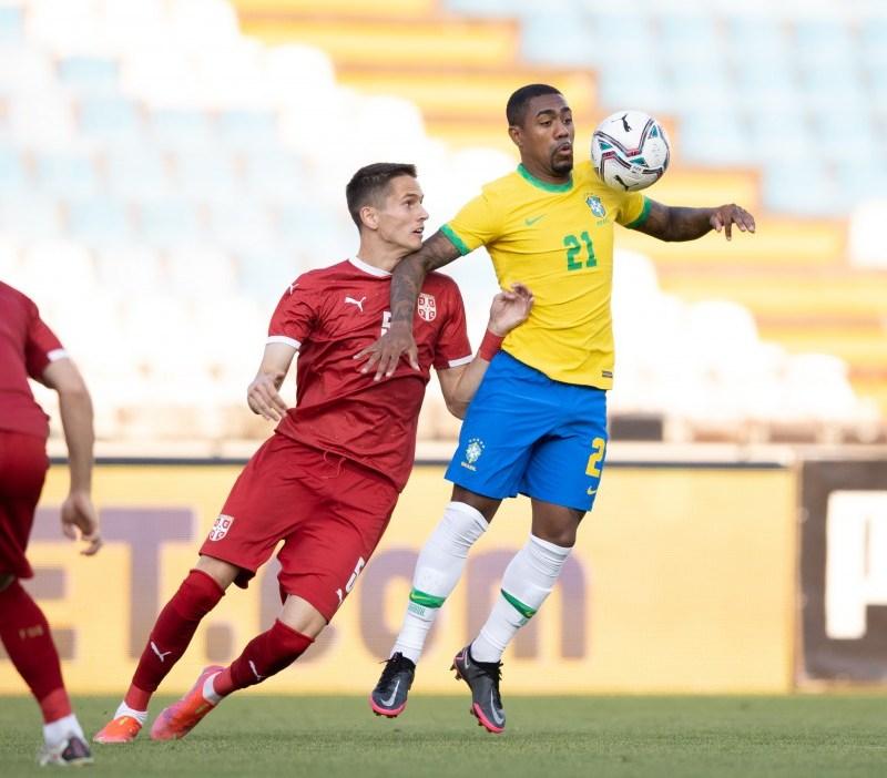 Seleção brasileira masculina de futebol faz hoje a última partida antes da estreia nos Jogos Olímpicos