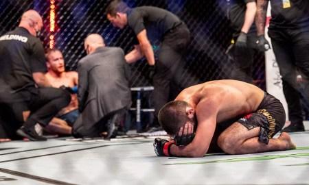 Resultados UFC 254 Aposentadoria Khabib vs Gaethje