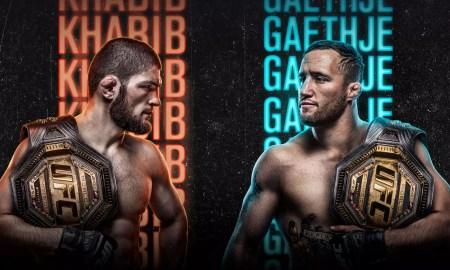 UFC 254 Khabib vs Gaethje campeão peso-leve