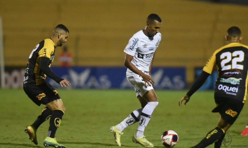 Santos perde no Paulistão para Novorizontino