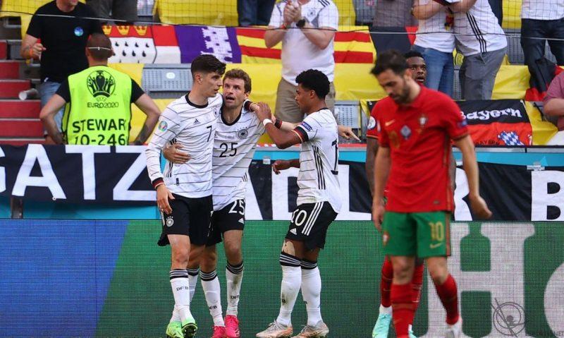 Alemanha vence Portugal