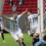 Argentina vence Uruguai pela Copa América