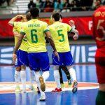 Em busca do hexa: seleção brasileira de futsal é convocada para Mundial na Lituânia