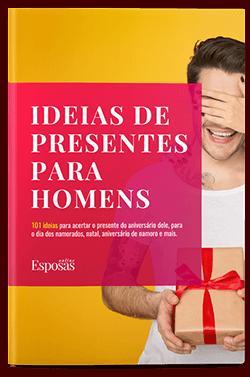 Ebook 101 ideias de presentes para homens - Esposas Online