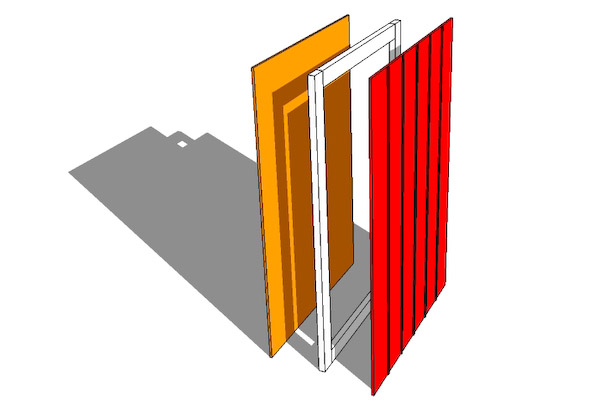 Build A Shed Door Instructions Easy Follow Guide Video
