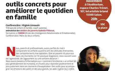 Une première conférence ESPRE avec Virginie Limousin le 28 Novembre 2014