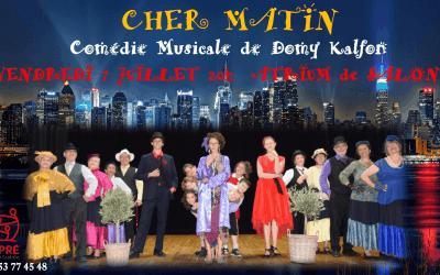 Comédie musicale 7 juillet 20h Auditorium – atelier théatre Espré