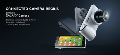 Samsung GALAXY Camera is the first Smart Camera in India