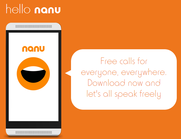nanu is a revolutionary app that allows you to make free calls on your mobile phone