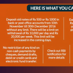 what to do 500 1000 note
