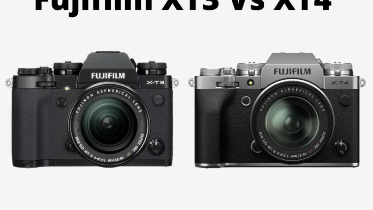 Fujifilm XT3 Vs XT4 features at a glance