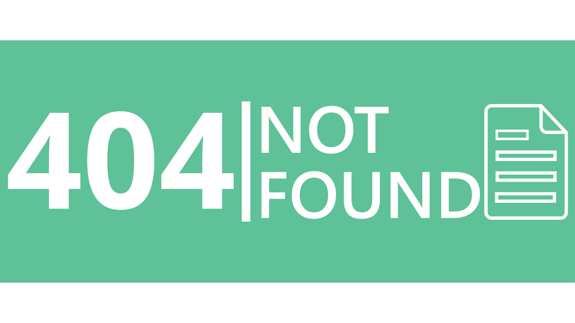 404 page not found espreson