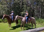 Horse back riding!