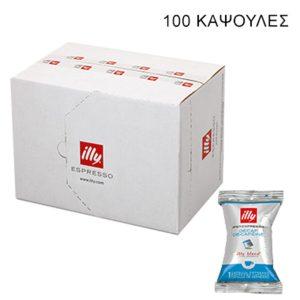 100 κάψουλες Illy iperespresso flowpack DECAF