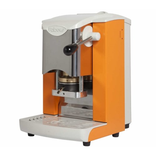 faber-espresso-machine-ORANGE-GRAY