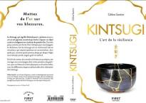 "The book ""Kintsugi, The Art of Resilience"", by Céline Santini"