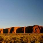 Uluru au centre de l'Australie