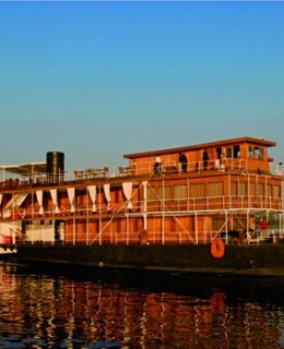 Steam Ship Sudan maison Voyageurs du Monde
