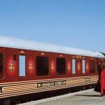 Le Maharajas Express à quai
