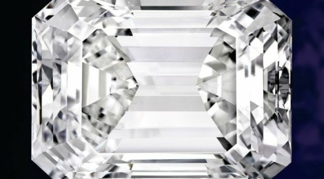 DIAMANT TAILLE EMERAUDE D'EXCEPTION