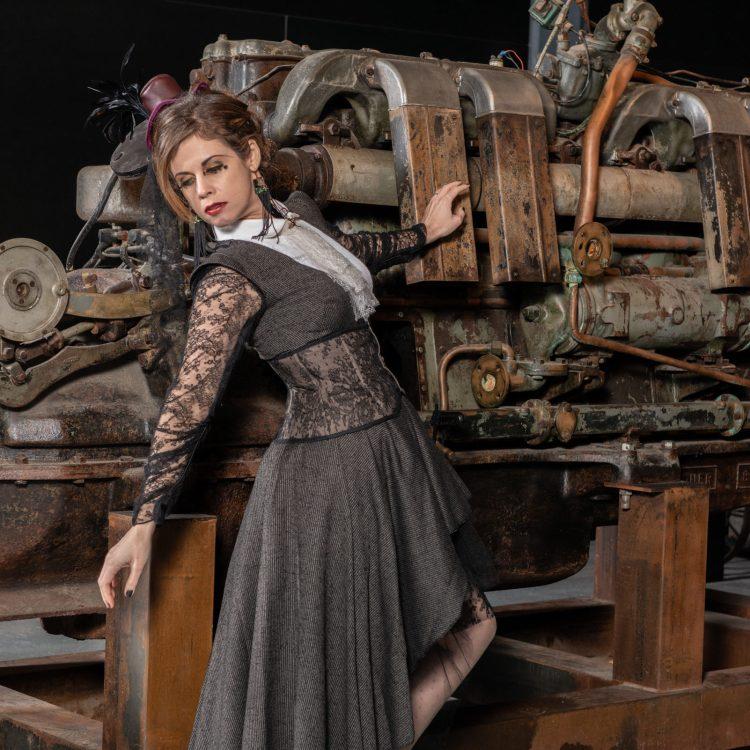 Steampunk modèle porté