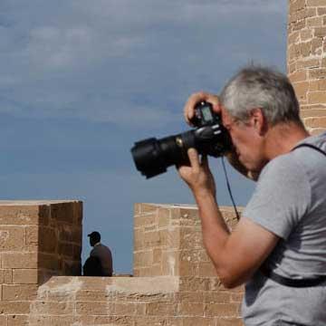 Newsletter Arnaud Carette en prise de vue