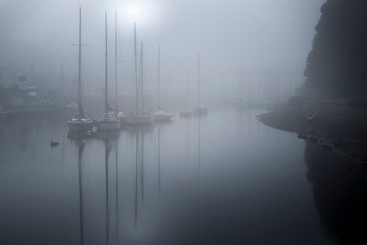Reflets de Brume photographie en Clair Obscur