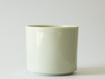 Gobelet à thé en porcelaine blanche