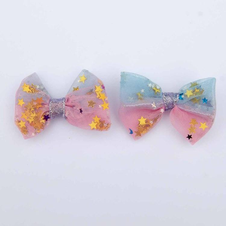 Noeud-papillon-Barrettes-Accessoires-de-coiffure