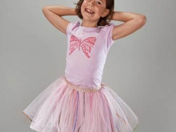 jupe Isadora en tulle modèle porté
